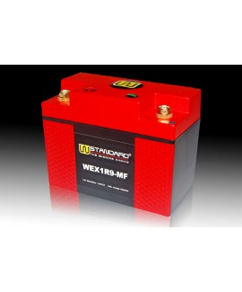 02-W-STANDARD Motorcycle lithium battery WEX1R9-MF Start the power supply 9Ah