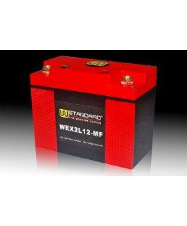 03-W-STANDARD Motorcycle lithium battery WEX2L12-MF Start the power supply 12Ah