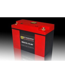 05-W-STANDARD Motorcycle lithium battery WEX3L18-MF Start the power supply 18Ah