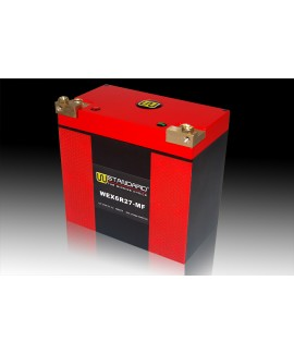 09-W-STANDARD Motorcycle lithium battery WEX6R27-MF Start the power supply 27Ah