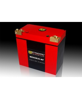 10-W-STANDARD Motorcycle lithium battery WEX6R36-MF Start the power supply 36Ah Harley