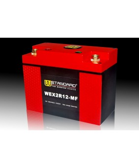 03-W-STANDARD Motorcycle lithium battery WEX2R12-MF Start the power supply 12Ah