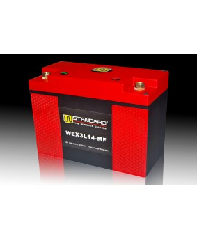 04-W-STANDARD Motorcycle lithium battery WEX3L14-MF Start the power supply 14Ah