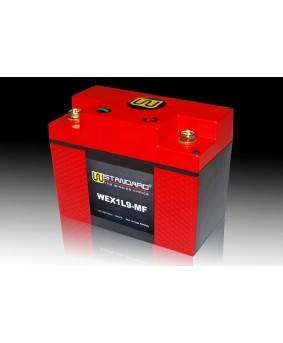 02-W-STANDARD摩托车锂电池WEX1L9-MF启动电源9Ah