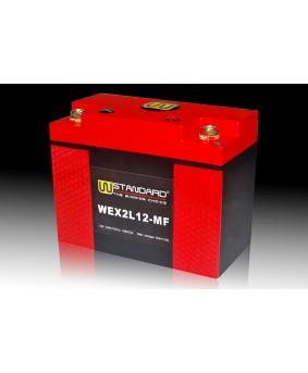 03-W-STANDARD摩托车锂电池WEX2L12-MF启动电源12Ah