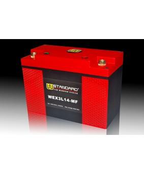 04-W-STANDARD摩托车锂电池WEX3L14-MF启动电源14Ah