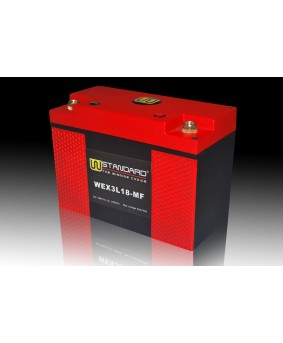 05-W-STANDARD摩托车锂电池WEX3L18-MF启动电源18Ah