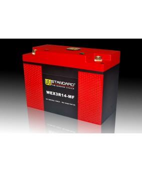04-W-STANDARD摩托车锂电池WEX3R14-MF启动电源14Ah