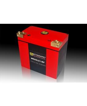 07-W-STANDARD摩托车锂电池WEX6L21-MF启动电源21Ah宝马哈雷