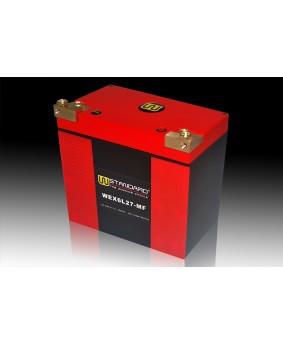 09-W-STANDARD摩托车锂电池WEX6L27-MF启动电源27Ah哈雷