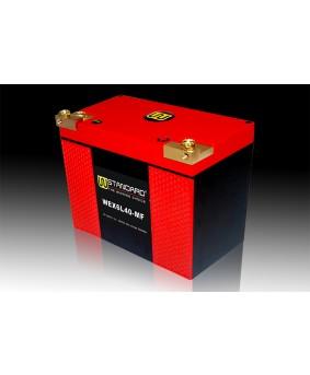 11-W-STANDARD摩托车锂电池WEX6L40-MF启动电源40Ah