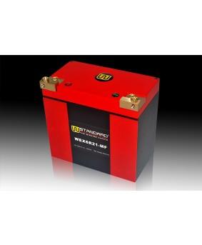 07-W-STANDARD摩托车锂电池WEX6R21-MF启动电源21Ah宝马哈雷
