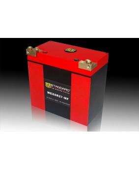 09-W-STANDARD摩托车锂电池WEX6R27-MF启动电源27Ah