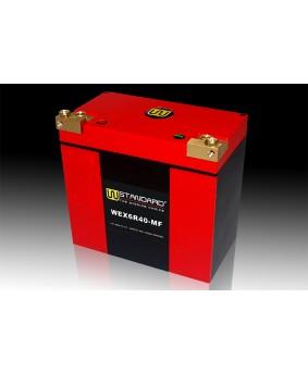 11-W-STANDARD摩托车锂电池WEX6R40-MF启动电源40Ah