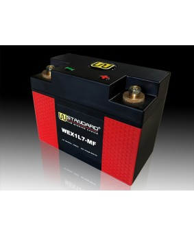 01-W-STANDARD摩托车锂电池WEX1L7-MF启动电源7Ah