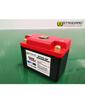 14-W-STANDARD摩托车锂电池WTX6L-MF启动电源6Ah
