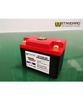 15-W-STANDARD摩托车锂电池WTX6R-MF启动电源6Ah